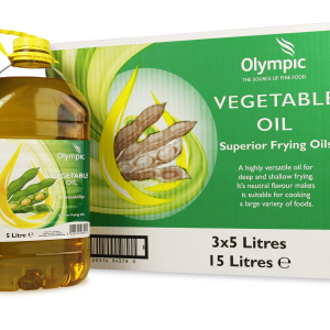 Olympic Vegetable Oil 3x5 Litres PET