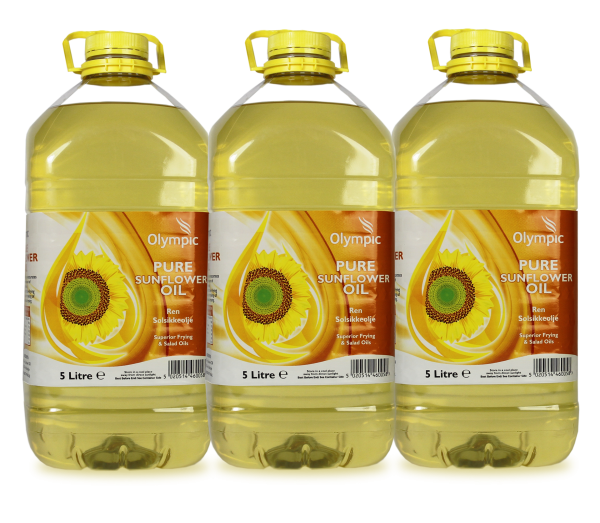 Olympic Sunflower Oil 3x5L