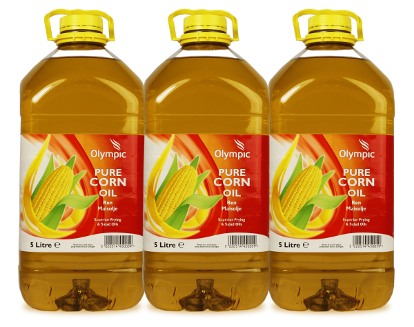 Olympic Corn Oil 3x5L Bottle