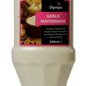 Olympic Garlic Mayonnaise 500ml Bottle