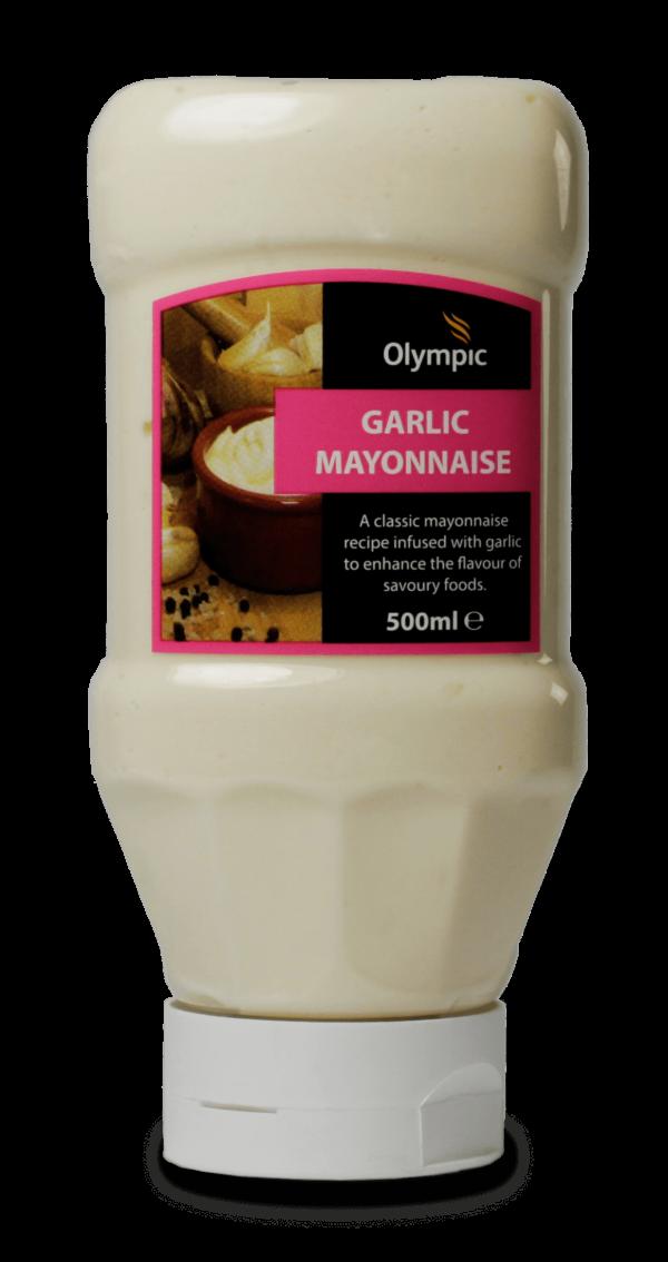 Olympic Garlic Mayonnaise 500ml Bottle