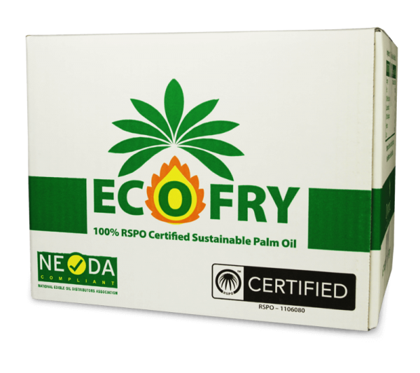 Eco-Fry Palm Oil RSPO 12.5kg Box