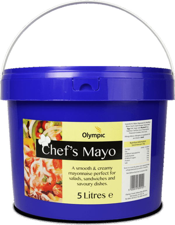 306-Olympic-Chefs-Mayo-5L-Bucket