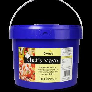 Olympic Chefs Mayo 10L Bucket