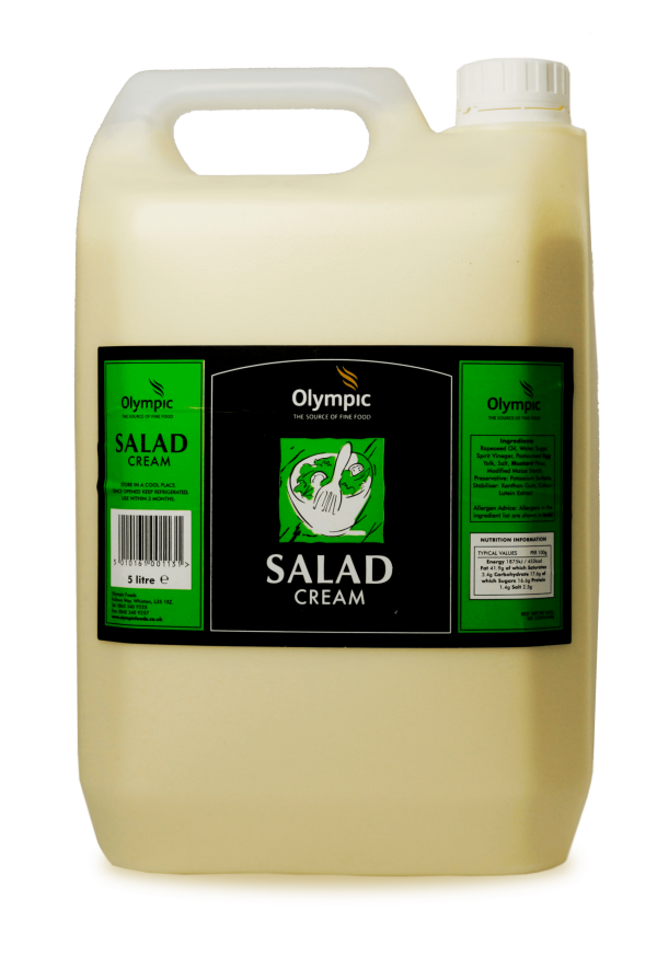 Olympic Salad Cream 5L Jerry Can