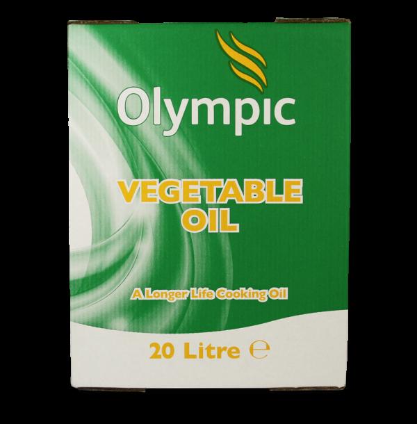 Olympic Vegetable Oil 20L Bottle In Box