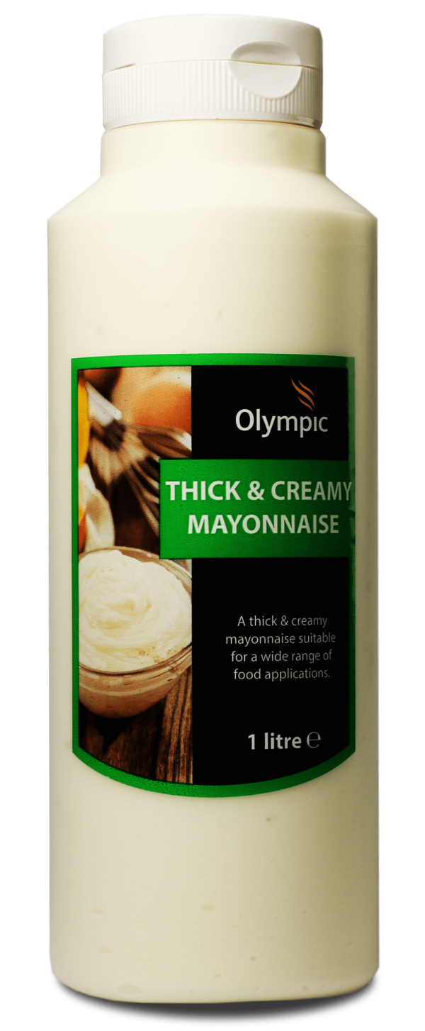 Olympic Thick Creamy Mayo 1L Bottle