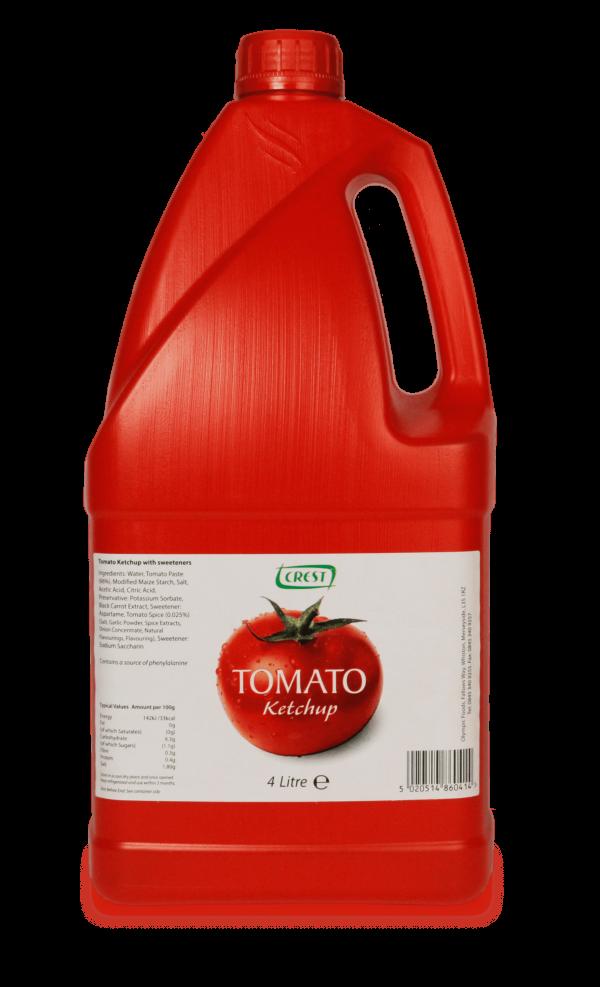 Crest Tomato Ketchup 4L Jug