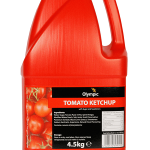 Olympic Tomato Ketchup 6×1 Litre HDPE Bottle - Olympic Foods