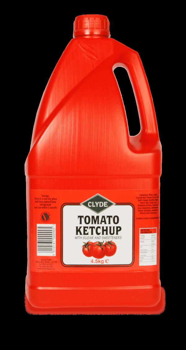 Clyde Tomato Ketchup 4.5kg Jug