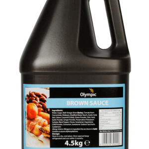 Olympic Brown Sauce 4.5kg Jug