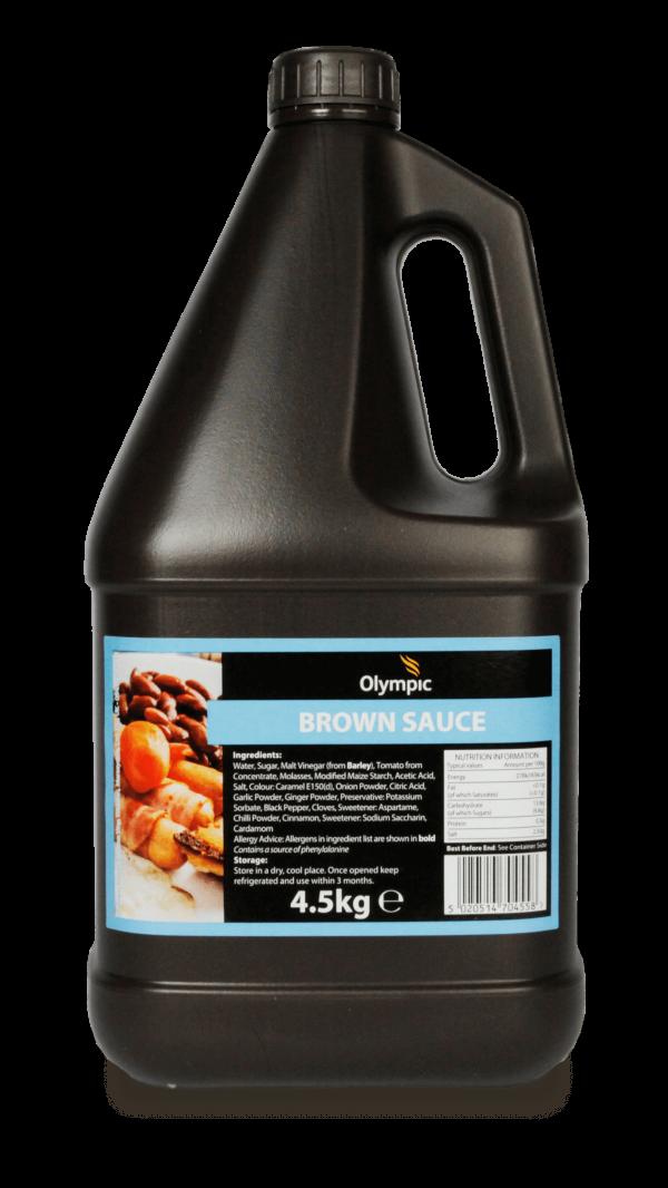 Olympic Brown Sauce 4.5kg Jug