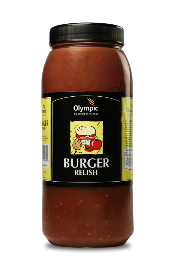 Olympic Burger Relish 2.27L Jar