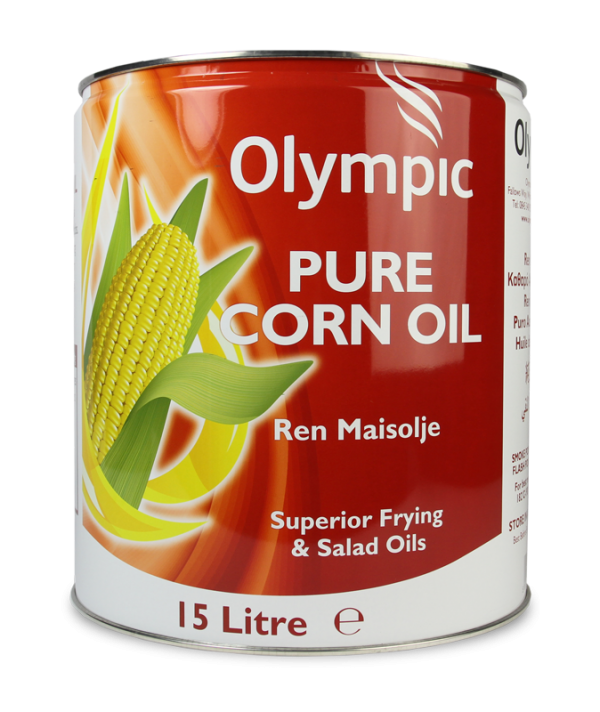 Olympic Corn Oil 15L Drum