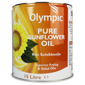 Olympic Sunflower Oil 15L Drum