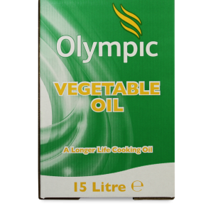 Olympic Vegetable Oil 15L Bottle In Box