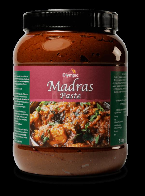 Olympic Madras Paste 2.38kg Jar